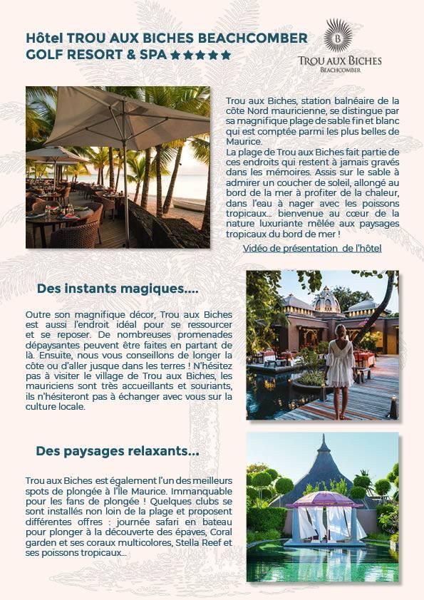 Voyage de rêve à Dubaï et île Maurice